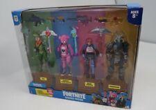 Jazwares Epic Games Fortnite Squad Mode 4 Figure Pack **Some box damage**
