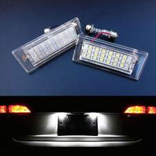2 ECLAIRAGE PLAQUE LED BMW X5 E53 FEUX ARRIERE IMMATRICULATION BLANC XENON