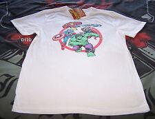 Marvel Comics The Avengers Mens White Printed Short Sleeve T Shirt Size M New