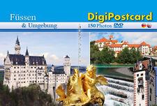 DigiPostcard Füssen und Umgebung - Ansichtskarte mit DVD als Stadtführer
