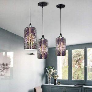 3D Firework Creative Hanging Lamp Glass Pendant Lights Bedroom Kitchen Lamp