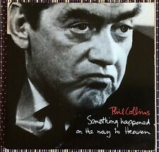 """PHIL COLLINS,SOMETHING HAPPENED ON THE WAY,VINTAGE 7"""" LP 45,EXCELLENT CONDITION"""