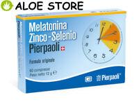 Dr.Pierpaoli - Melatonina Zinco-Selenio 60 compresse - FORMULA ORIGINALE