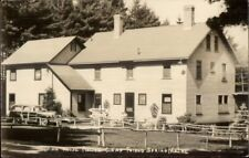 Poland Spring ME Rolly Camps Main House Real Photo Postcard