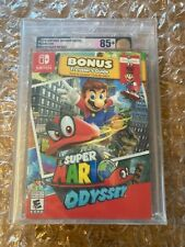 BRAND NEW SEALED SUPER MARIO ODYSSEY FOR NINTENDO SWITCH VGA GOLD GRADED 85+