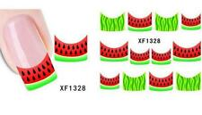Watermelon Red Green Nail Art Sticker Decal Decoration Manicure Water Transfer