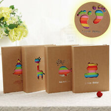 100-Pocket 7inc Cute Cartoon Kids Children Baby Photo Picture Storage Album Case