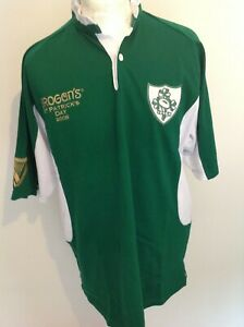*NEW* IRELAND GUINNESS ST PATRICKS DAY 2008 RUGBY SHIRT LARGE
