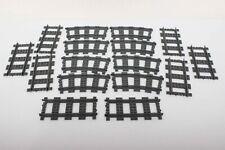 Lego Train Supplemental RC Train Set 7896-1 8x Straight & 8x Curved Rails 100%