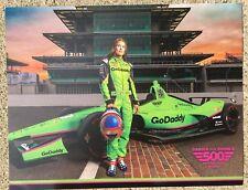 DANICA PATRICK 2018 Indy Car Indianapolis 500 Promo hero Card Go Daddy PROMOCARD
