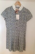 Liberty Dress Little White Lies Urban Outfitters Anthropologie Blue Small Bnwt