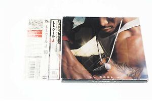 LL COOL J 10 UICD-9004 JAPAN OBI CD A10215