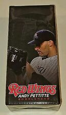 Rochester Red Wings Andy Pettitte bobblehead bobble head NY New York Yankees sga