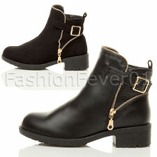 Unbranded Synthetic Zip Ankle Boots for Women
