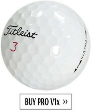 60 Titleist Pro V1x Mint Factory Refinished Golf Balls No Logos #1 Ball in Golf!