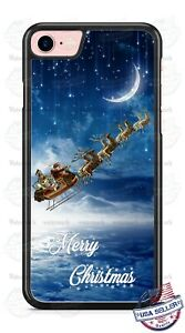 Santa On Sledge Handing out Gifts Christmas Phone Case For iPhone Samsung Google