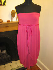 FULL CIRCLE Grecian raspberry DRESS new 12 RP£65 Lolita