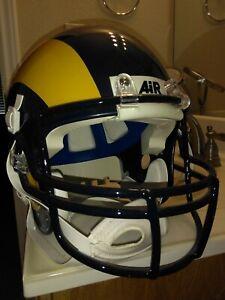 Los Angeles Rams helmet Schutt Air Marshall Faulk Isaac Bruce St. Louis Rams