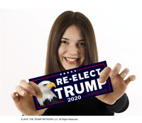 4 TRUMP BUMPER STICKERS | MADE IN THE USA - IN STOCK & READY TO SHIP!