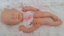 """Kit Muñeca Reborn Bebé """"Elsa"""" con cuerpo completo de las extremidades no + Pezón Maniquí de vinilo rosa."""
