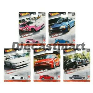 Hot wheels 1:64 Car Culture Modern Classics Set of 5 FPY86-956S Diecast Model