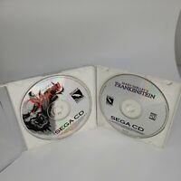 Mary Shelley's Frankenstein/Bram Stoker's Dracula Sega CD Double Deal Tested