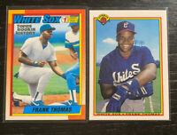 REPRINTS Frank Thomas RC Lot(2) Topps Iconic Cards(2019) Rookie History(2018)