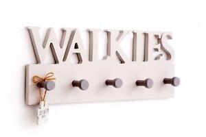 Wall Hooks - Wood - WALKIES - Dog/Pet - Lead/Leash Holder