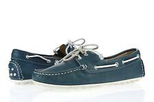 Womens ECCO CUNO LADIES 227862 Denim Blue Leather Boat Shoes Sz. 38