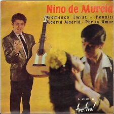 "NINO DE MURCIA ""FLAMENCO TWIST"" 60'S EP FESTIVAL 1293"