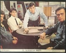 Alain  Delon and others The Sicilian Clan Le Clan des Siciliens lobby card 2925