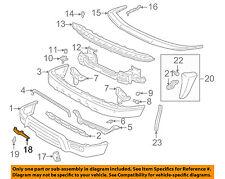 TOYOTA OEM 99-01 4Runner Front Bumper-Plate 5392535010