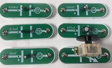 Snap Circuits Elenco Electronic C1 C2 C3 C4 C5 CV Capacitors. Replacement parts