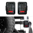 2X LED Tail Lights Rear Brake Turn Signal Reverse for 2007-2018 Jeep Wrangle JK