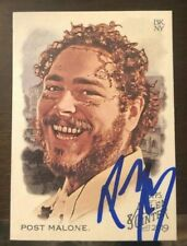 Post Malone 2019 Topps Allen & Ginter Auto Autograph Signed In Person