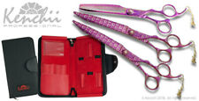 Kenchii Grooming Pink Poodle Professional Grooming Shears Choose Shear or Set