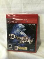 Demon's Souls [PlayStation 3 PS3, Greatest Hits, FromSoftware, Action RPG] NEW