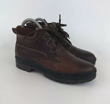 Womens Timberland Boots Brown Leather Chukka Size 6 USA