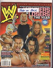 WWE Magazine November 2008 HBK, Triple H, Jeff Hardy 040317nonDBE