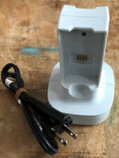 XBOX 360 ✔ WHITE QUICK CHARGE KIT BATTERY CHARGING STATION DOCK CHARGER ✔ TESTED