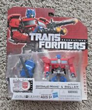 TRANSFORMERS OPTIMUS PRIME AND ROLLER GENERATIONS 30TH RARE NEW AUTOBOT