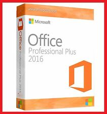 Microsoft Office 2016 Professional Plus, MS® Office✔ PRO VOLLVERSION 32 / 64 Bit