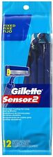 Gillette Sensor2 Disposable Razors 12 ea.