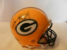 Aaron Rouse #37 Green Bay Packers Signed Mini Helmet