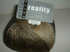 Artful Yarns - Reality #2405  Shades of Grey & Brown With FREE Pattern