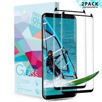 3D für Samsung Galaxy S8 Schutzglas Full Screen Display Hart Glas