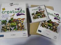 Creatures 2 Spanisch Mindscape Schachtel Groß Set para PC Cd-Rom Ausgabe Spanien
