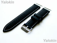22mm - 4pcs Replacement Strap Set for Luxury, Sports, Casual Watches (B-MHLS)