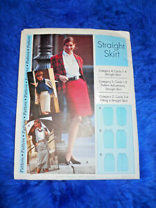 Sewing Step by Step Straight Skirt Pattern  Misses Sizes 4-22 FREE SHIPPING!!!!!