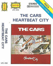 THE CARS HEARBEAT CITY IMPORT SAUDI UFO CASSETTE New Wave, Pop Rock, Synth-pop